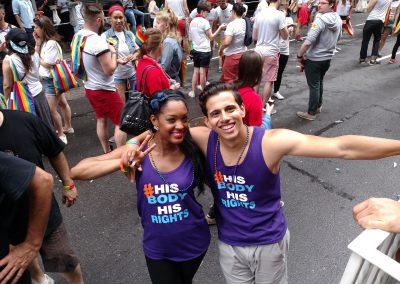 NYC Pride March - Intact America contingent